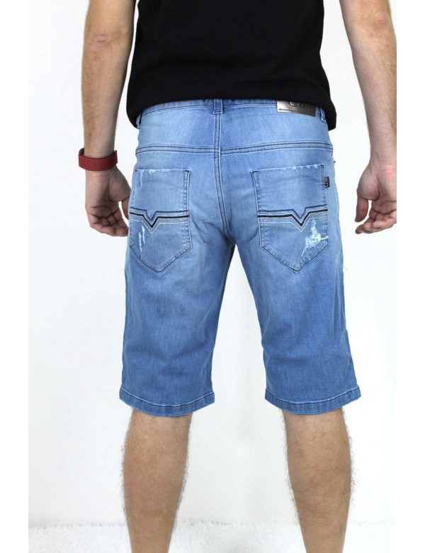 BERMUDA JEANS MASCULINA CLARA CORDÃO - Jeans