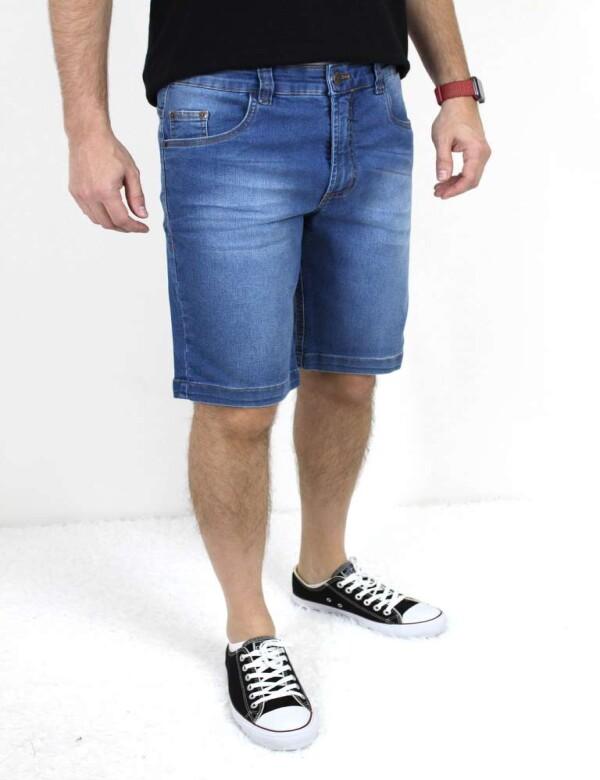 BERMUDA JEANS MOLETOM - Jeans