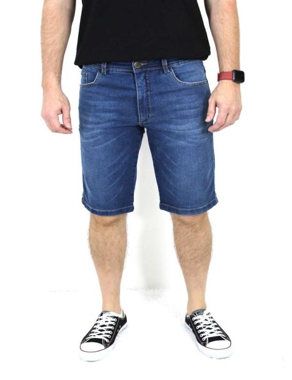 BERMUDA STONE MOLETOM - Jeans