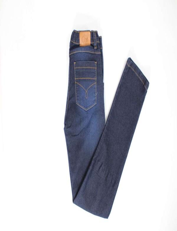 CALÇA INFANTIL MASCULINA COM ELASTANO - Jeans