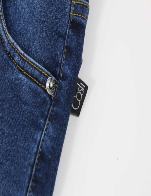CALÇA JEANS FEMININA COM ELASTANO - Jeans