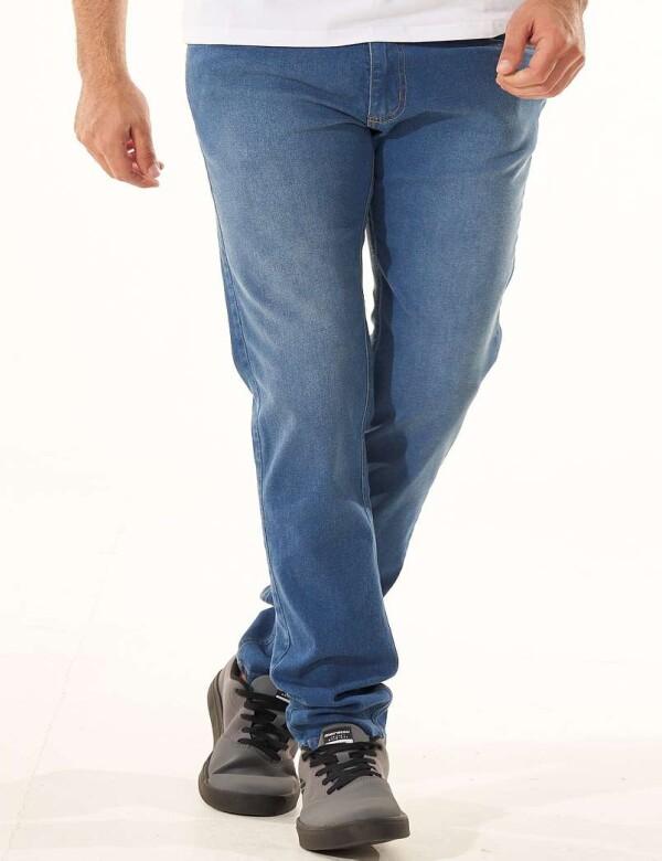 CALÇA JEANS MASCULINA COM ELASTANO - Jeans