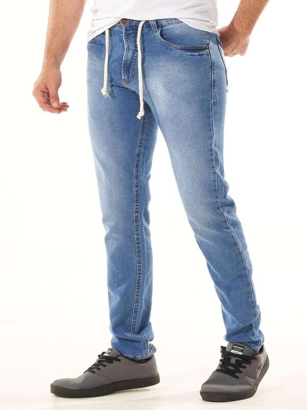 CALÇA JEANS MOLETOM COM ELASTANO - Jeans