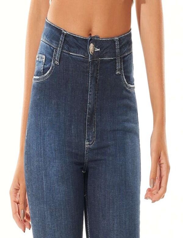 CALÇA JEANS SKINNY COM ELASTANO - Jeans