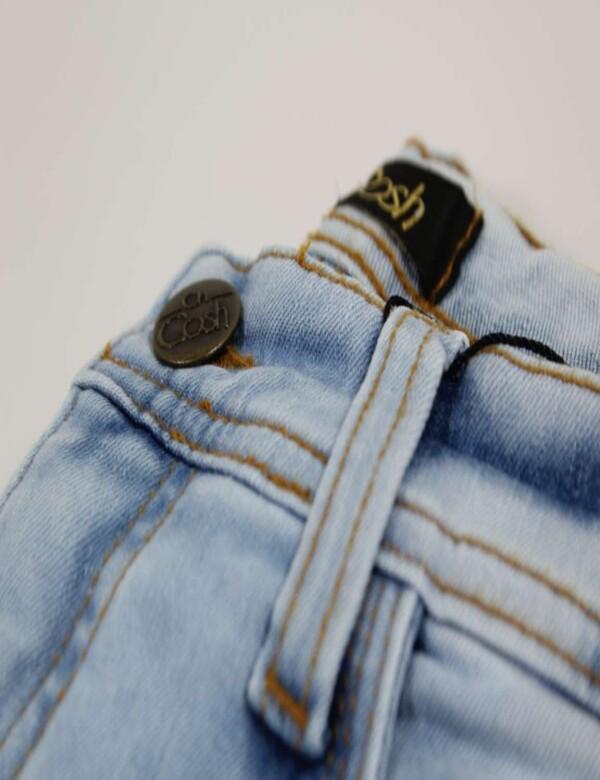CALÇA MASCULINA JEANS MOLETOM - Jeans