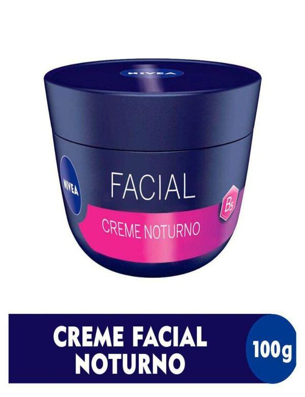 CREME FACIAL NIVEA NOTURNO 100G - Marinho