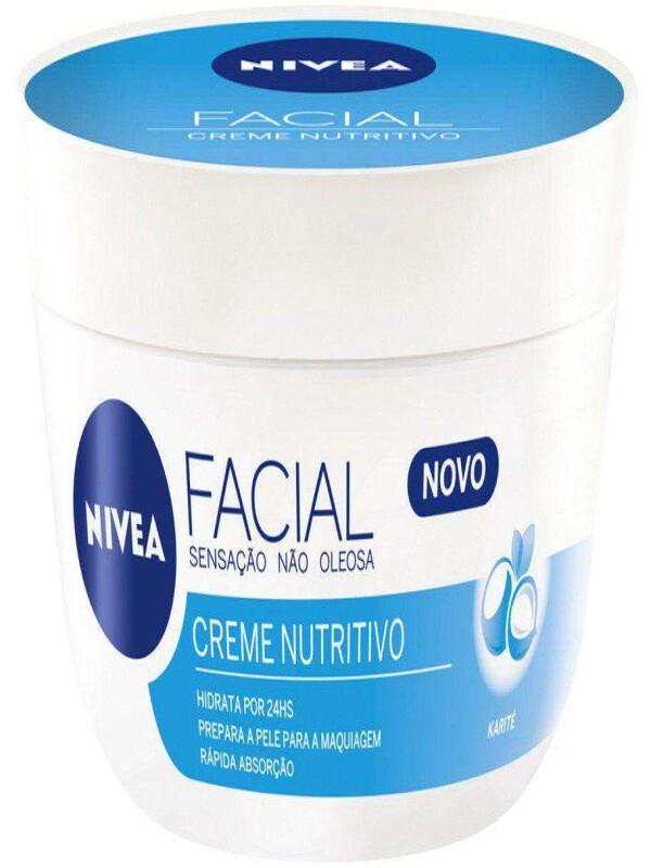 CREME FACIAL NIVEA NUTRITIVO 100G - Azul