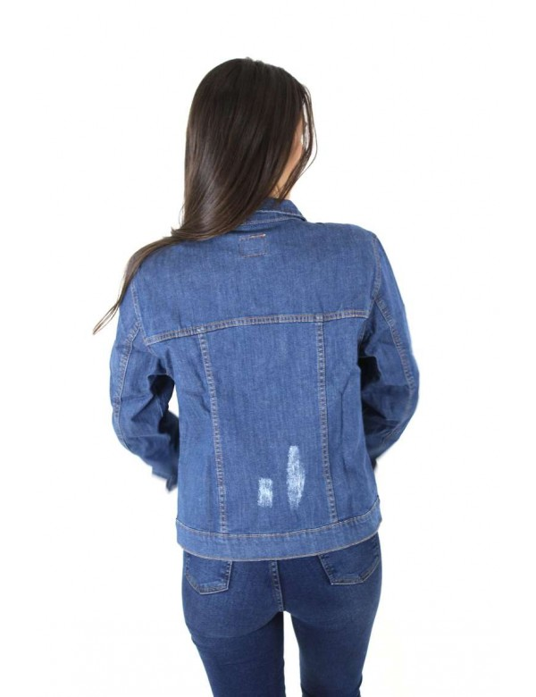 JAQUETA JEANS FEMININA TRADICIONAL - Jeans