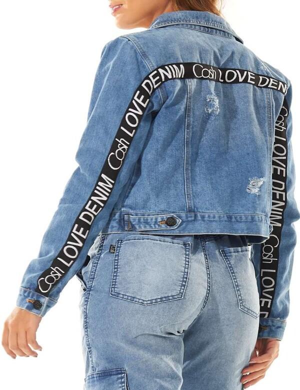 JAQUETA JEANS LOVE DENIM - Jeans